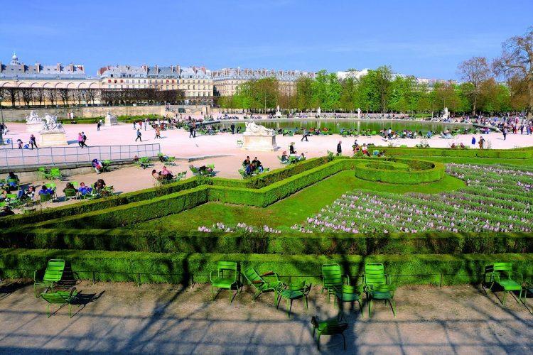 Tuileries Garden via Devinto