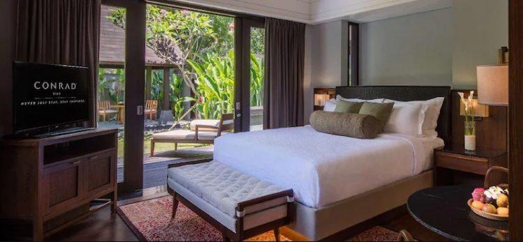 Vila Conrad dengan Kasur King dan Kolam Renang - Kamar Tidur