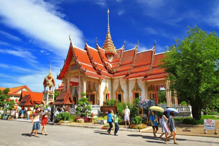 Wat Chalong via Hotels