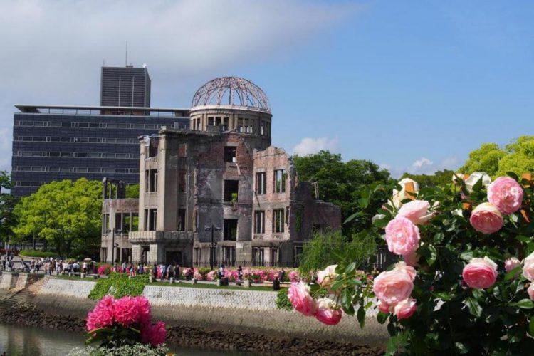 A-Bomb Dome via Hroshima Navi