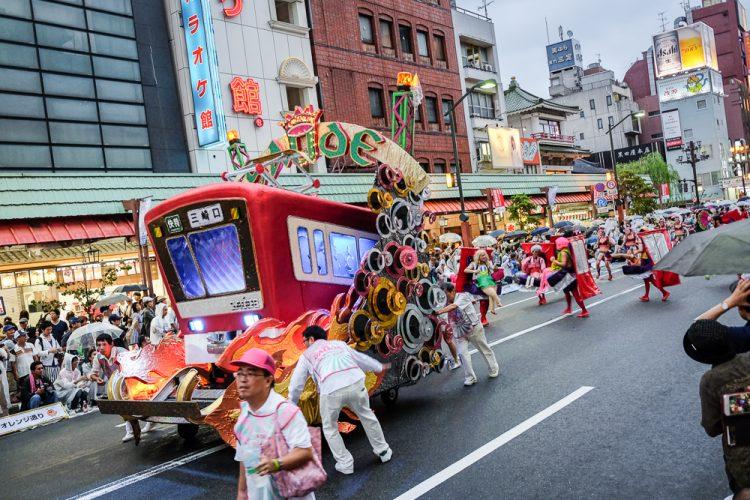 Asakusa Samba Carnival via Japanallower
