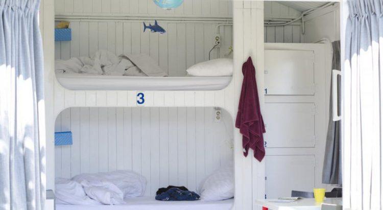 Dormitory Lucky Lake Hostel at Night via Group Corner