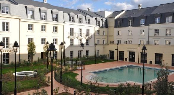 Hipark Residence Serris Val d'Europe, via booking