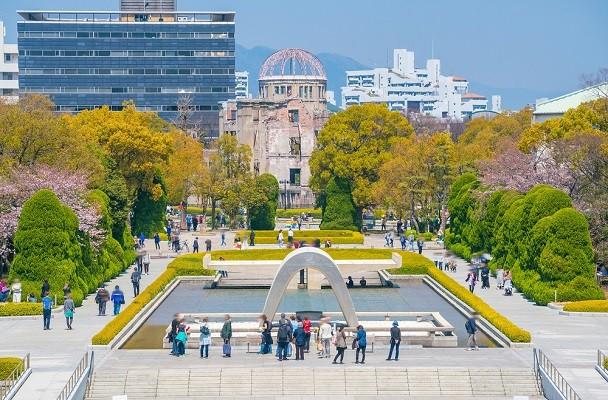 Hiroshima Peace Memorial Park via Fun Japan