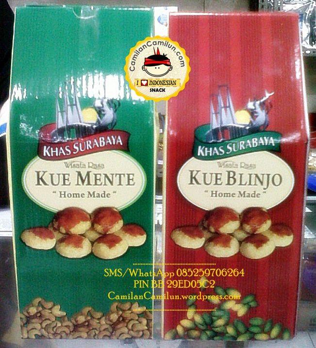 Kue Mente Oleh-oleh Khas Surabaya via Pinterest