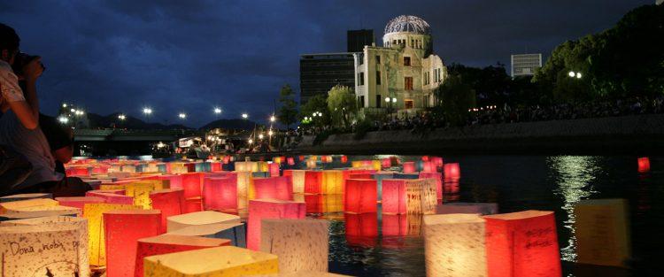 Lantern Ceremony via Visit Hiroshima