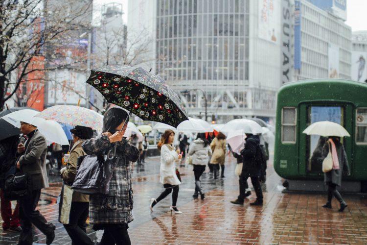 Musim hujan di Jepang via Artforia