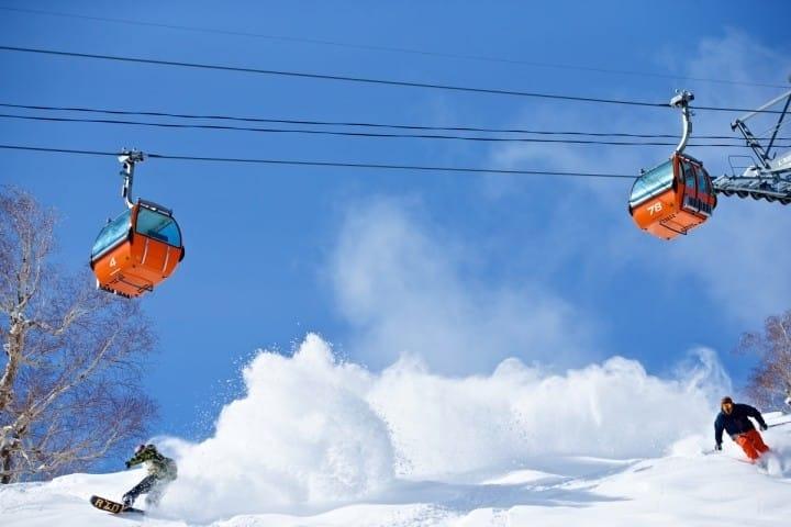 Resort Ski di Hokkaido Matcha-Jp