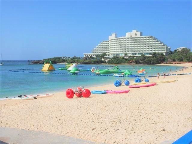 Salah satu pantai di Okinawa via Matcha-jp