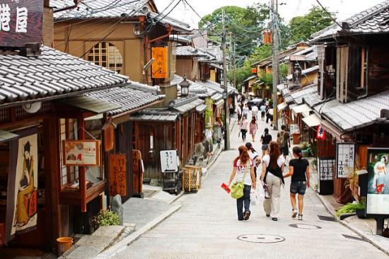 Sannenzaka di Higashiyama via Infojepang