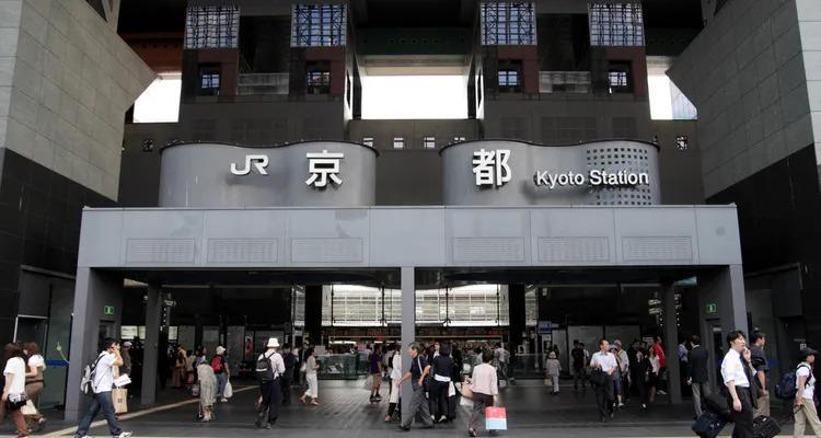 Stasiun Kyoto via shutterstock