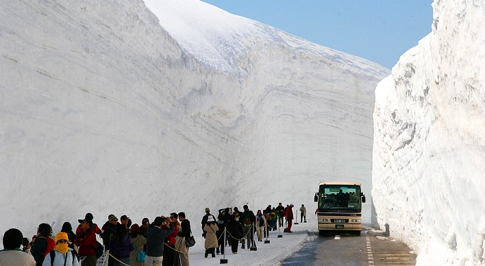 Tateyama Kurobe Alpine Route via Javamilk