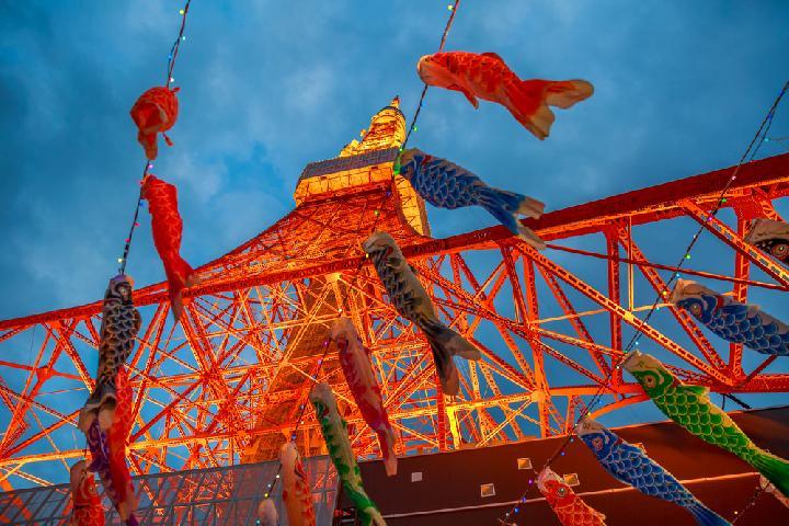 Tokyo Tower dan perayaan hari anak via Tempo